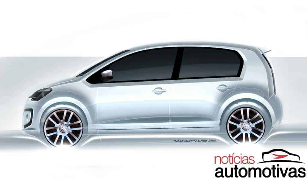 0110 Novo Volkswagen up! 2014: tudo sobre o novo popular