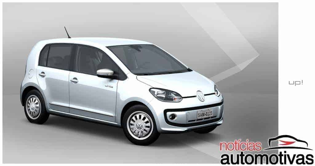 18 white up Novo Volkswagen up! 2014: tudo sobre o novo popular