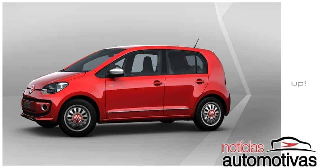 19 red up Novo Volkswagen up! 2014: tudo sobre o novo popular