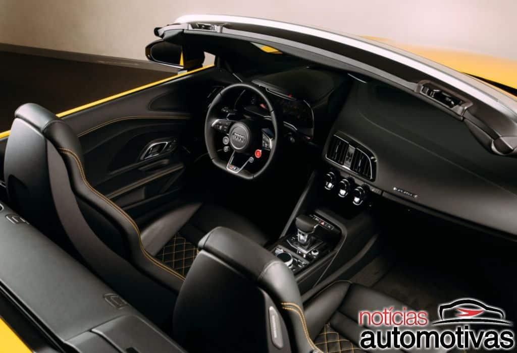 Audi-R8-Spyder-2017-1 Audi R8 V10 Spyder 2017 chega aos EUA e parte de US$ 175,1 mil
