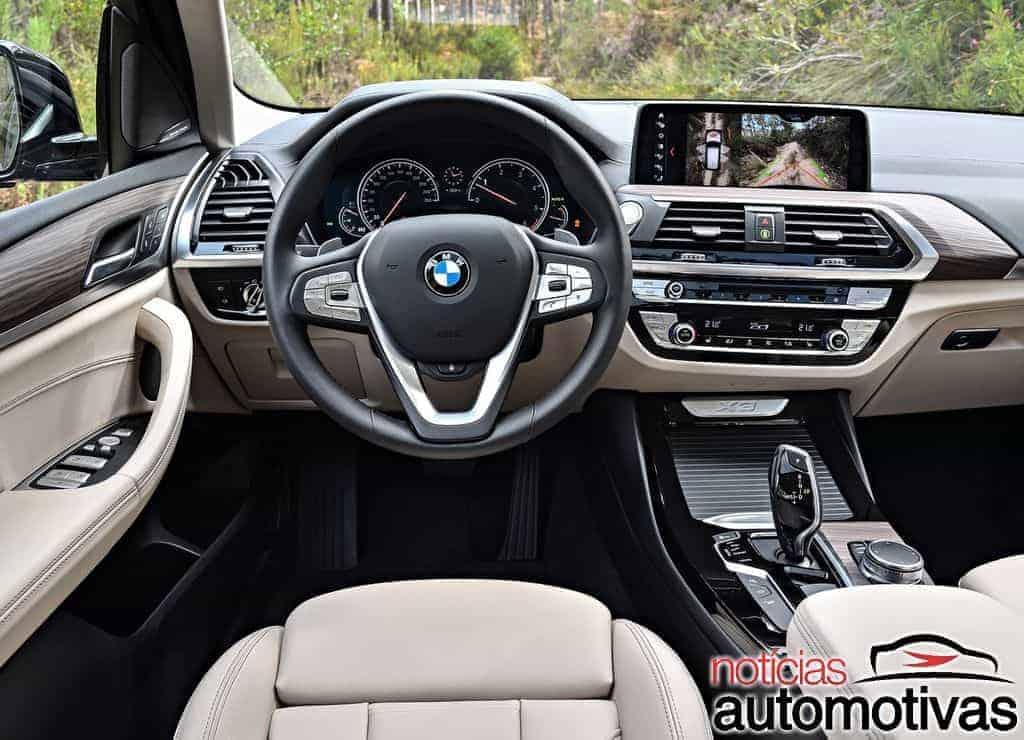 BMW-X3-2018-1 BMW X3 2018 estreia em pré-venda com duas versões