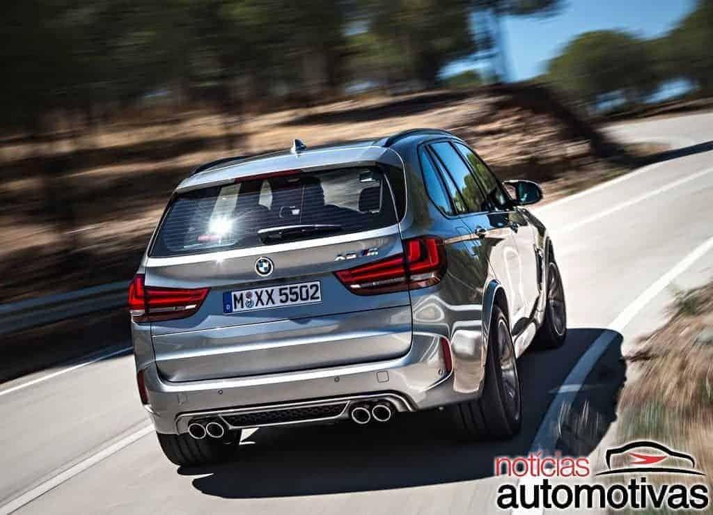 BMW-X5-M-2017-7 Novo BMW X5 M chega ao Brasil no primeiro semestre de 2018