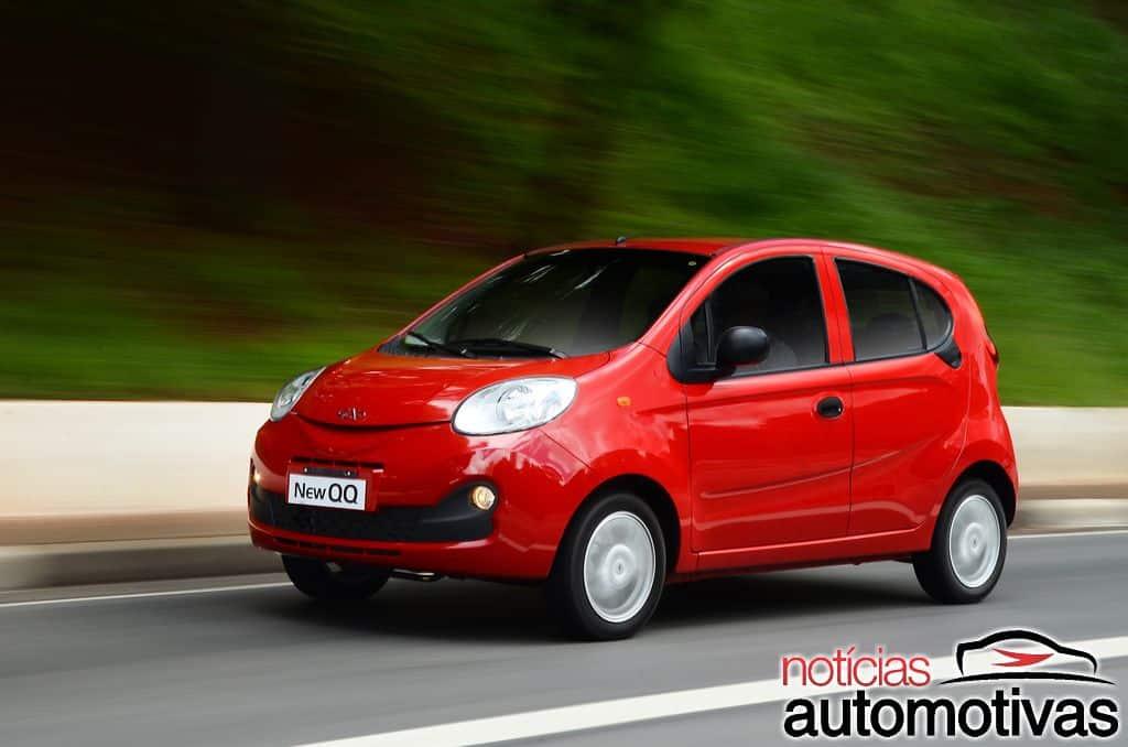 CHERY NEW QQ 2 1 - Os 10 automóveis 0km mais baratos do Brasil