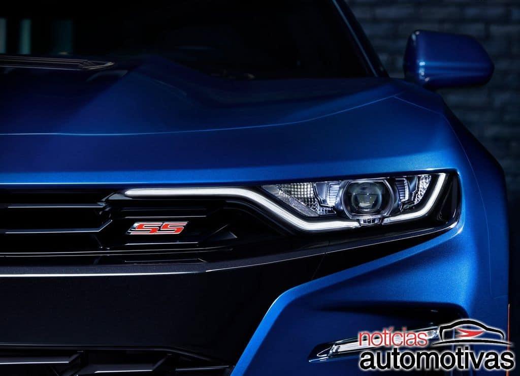 Chevrolet-Camaro-2019-1280-02 Chevrolet Camaro 2019 recebe retoques no visual e câmbio de 10 marchas