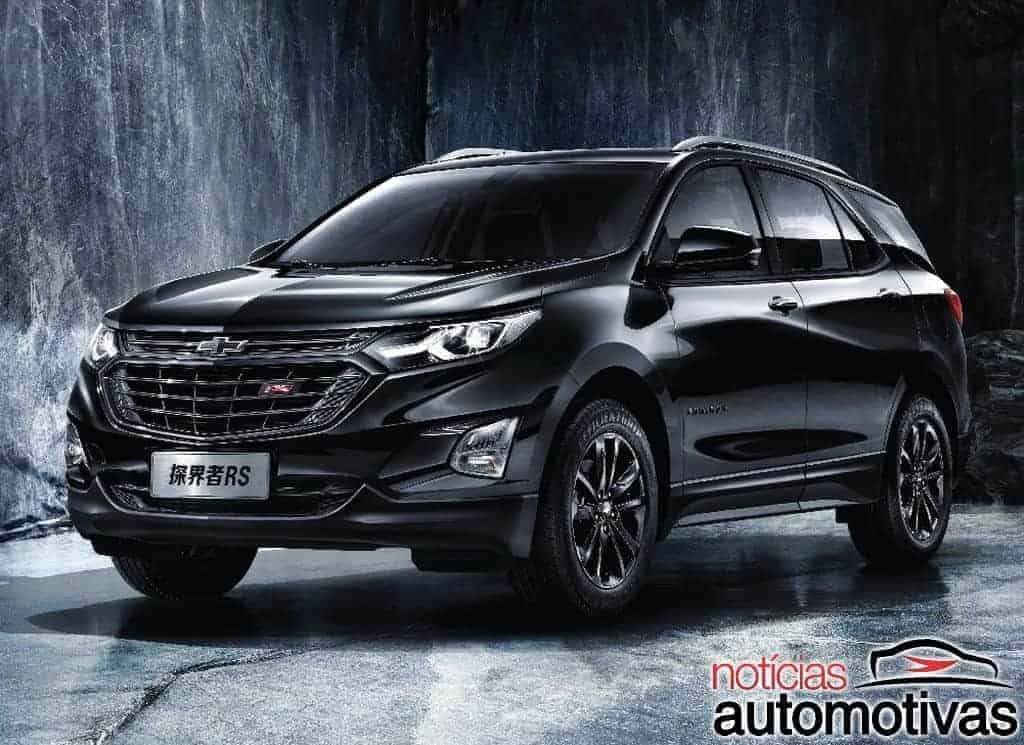 Chevrolet-Equinox-RS-2018-3 Chevrolet Equinox 2018 ganha versão RS na China