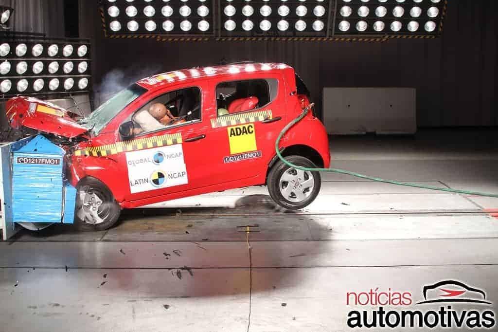 Fiat-Mobi-Latin-NCAP-12 Fiat Mobi decepciona com uma estrela em teste do Latin NCAP (vídeo)