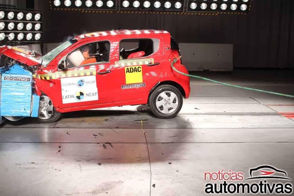 Fiat-Mobi-Latin-NCAP-14 Fiat Mobi decepciona com uma estrela em teste do Latin NCAP (vídeo)
