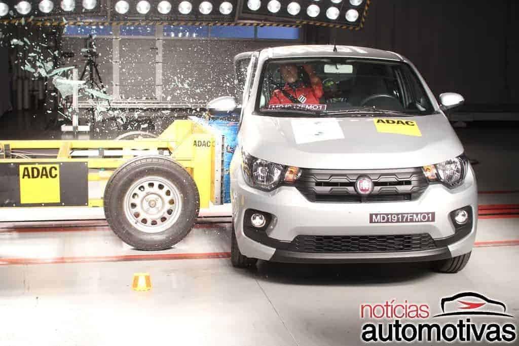 Fiat-Mobi-Latin-NCAP-5 Fiat Mobi decepciona com uma estrela em teste do Latin NCAP (vídeo)