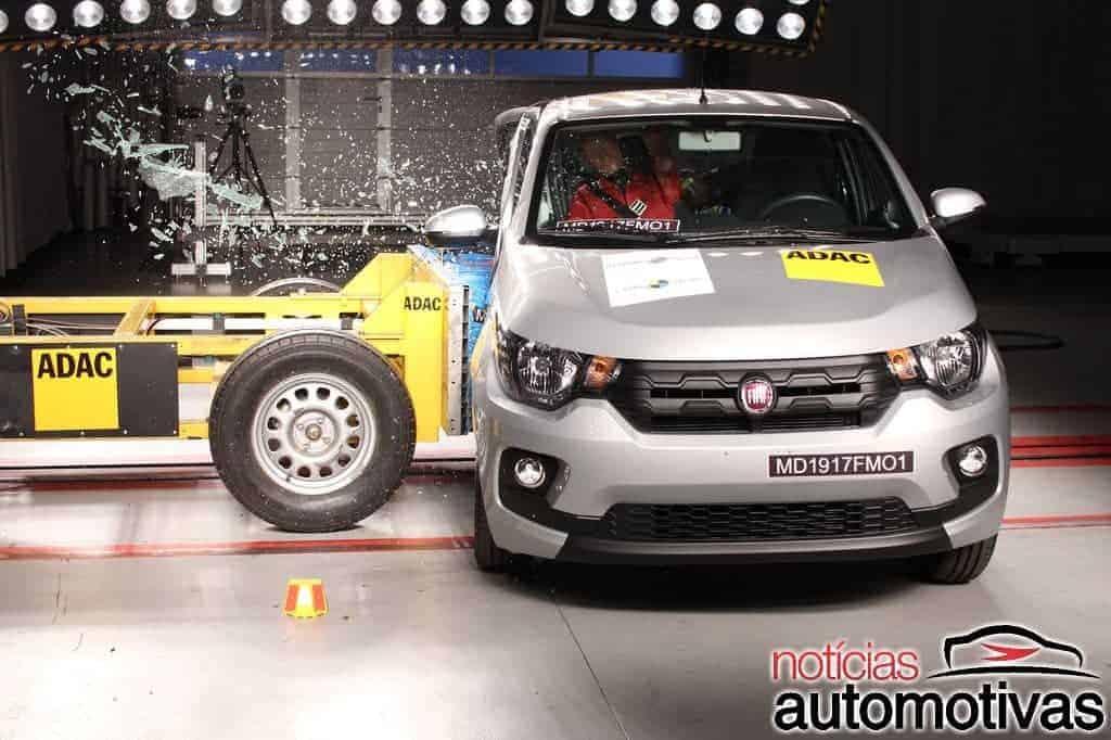 Fiat-Mobi-Latin-NCAP-8 Fiat Mobi decepciona com uma estrela em teste do Latin NCAP (vídeo)
