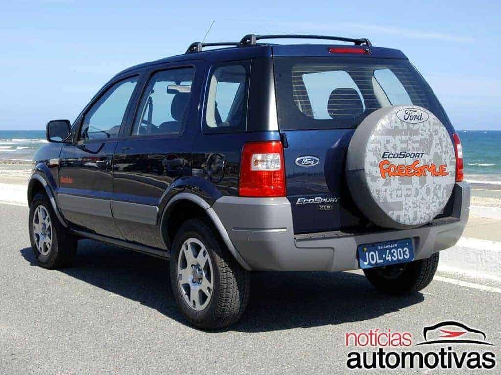 Ford-EcoSport-Freestyle-2005-2 Versões especiais de carros da Ford