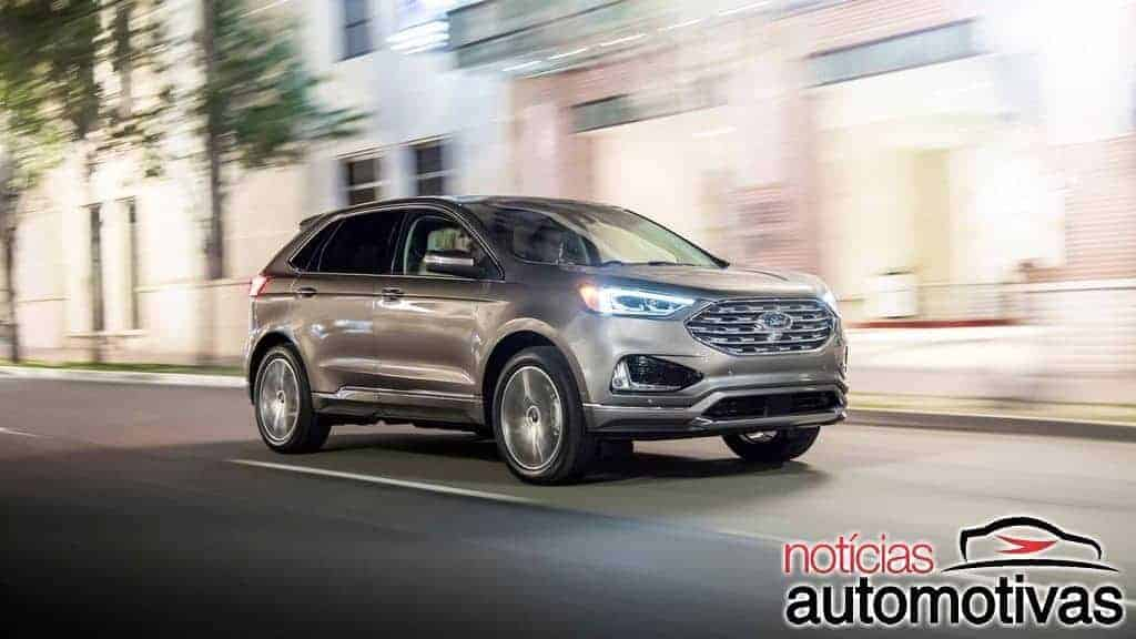 Ford-Edge-Titanium-Elite-2019-2 Ford Edge Titanium Elite 2019 agrega detalhes exclusivos e mais equipamentos