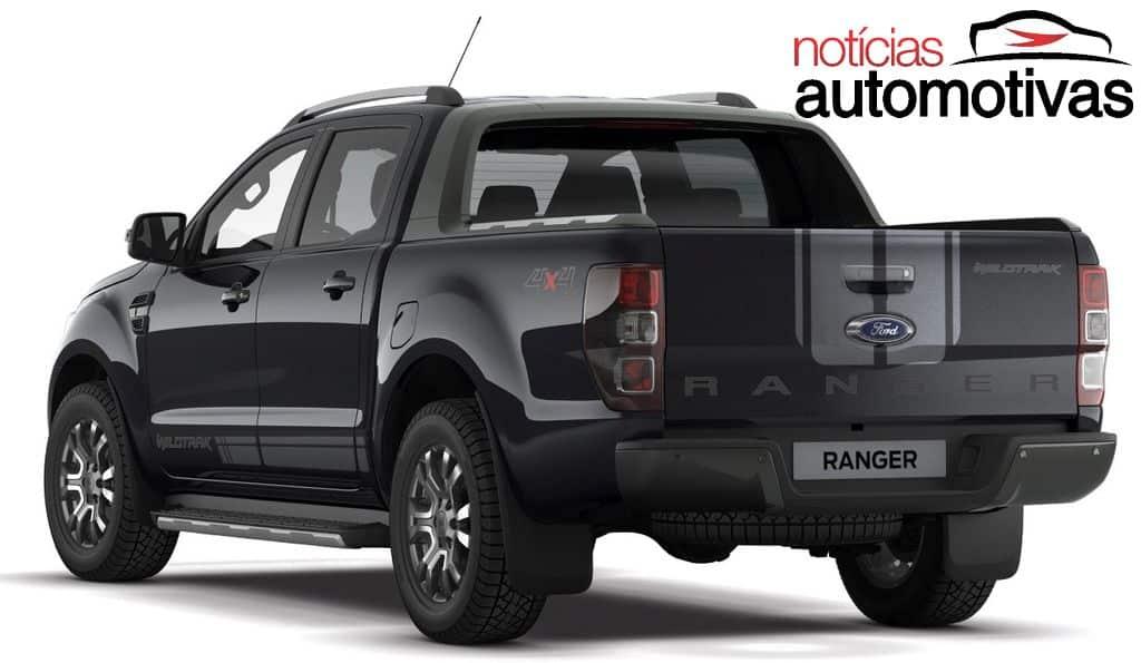 ranger-eua Ford Ranger 2019 é flagrada nos EUA com estilo parecido ao da Wildtrak