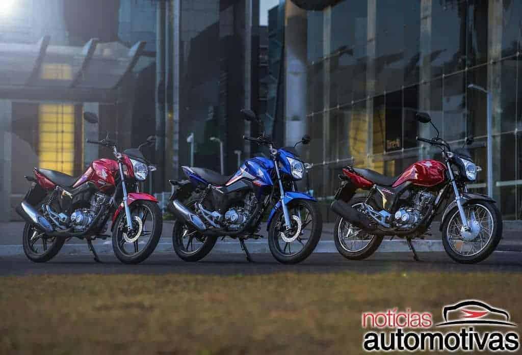 Honda-CG-2018-2 Honda anuncia linha CG 2018 com freios CBS de série e preço inicial de R$ 7.990