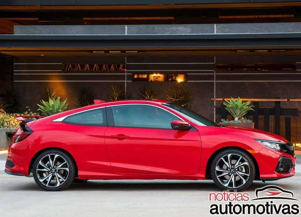 Honda-Civic-Si-Coupé-2018-3 Honda Civic Si 2019 é confirmado para abril com preços a partir de R$ 159.900