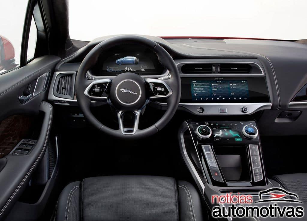 Jaguar I-Pace SVR consegue acelerar de 0 a 100 km/h em 1,8 segundo