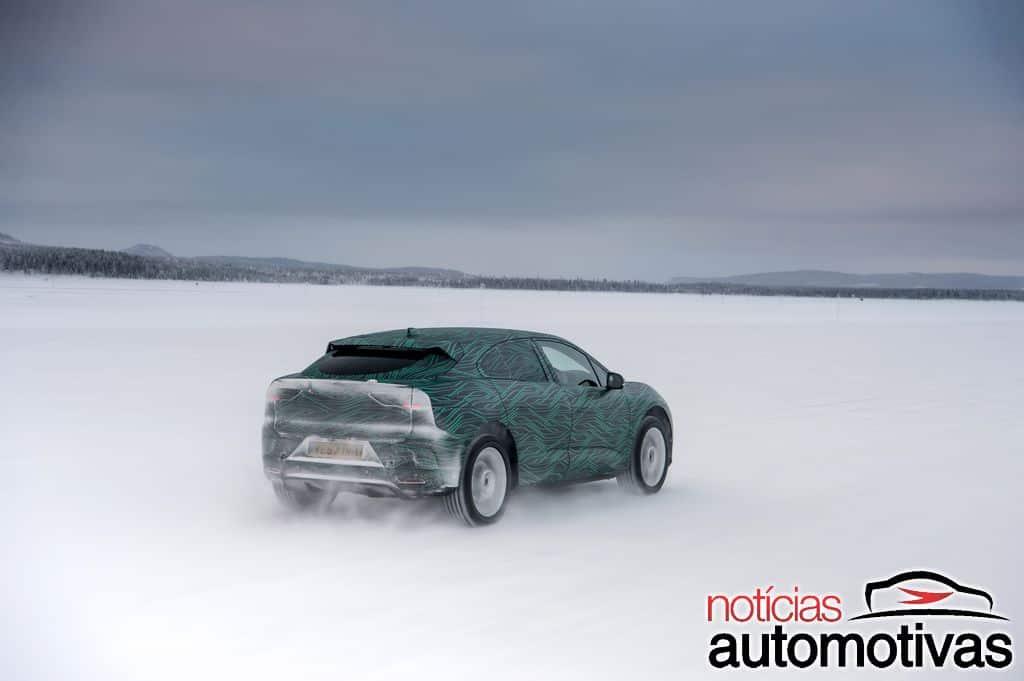 Jaguar-I-Pace-EV-elétrico-neve-11 Jaguar I-Pace EV será lançado como o primeiro elétrico da marca