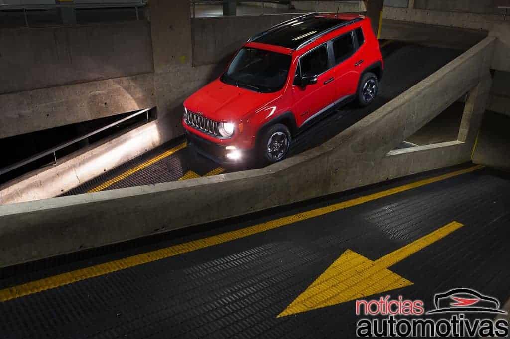Jeep Renegade Sport NA 4 - Novo Jeep Renegade: Detalhes e impressões ao dirigir o novo SUV brasileiro