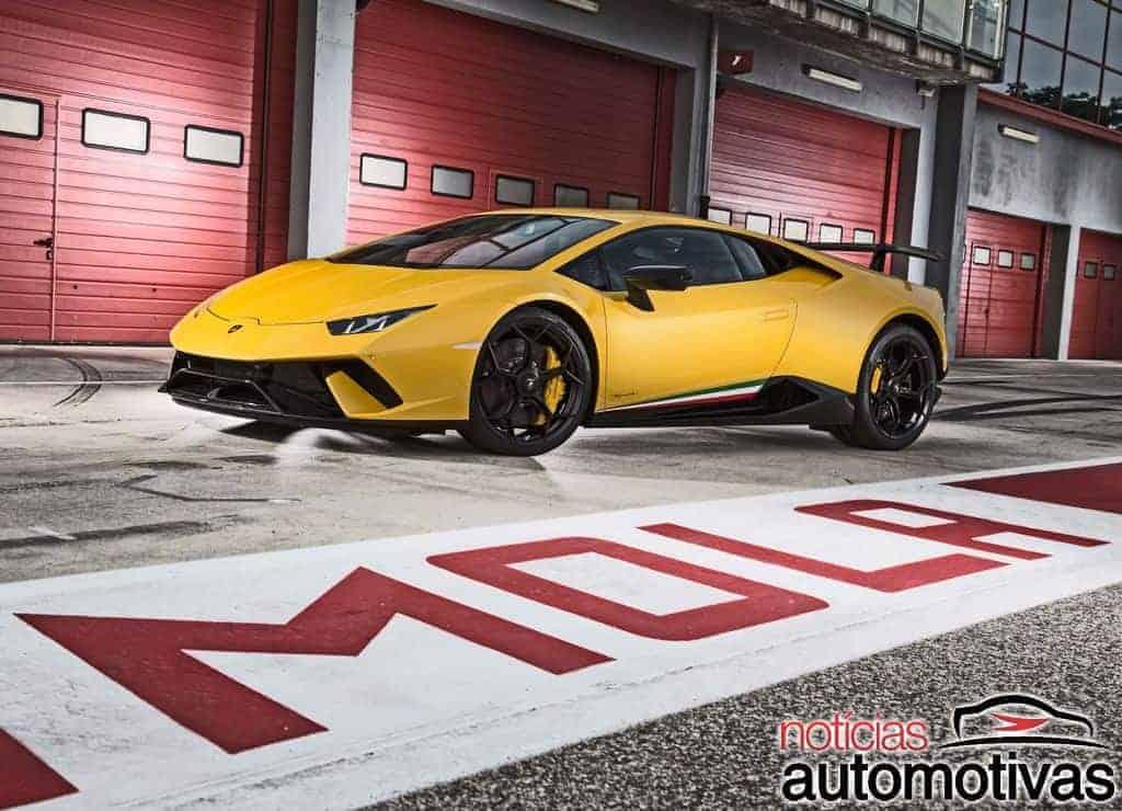 Lamborghini-Huracan-Performante-4 Lamborghini Huracan Performante é anunciado no Brasil por R$ 3,3 milhões
