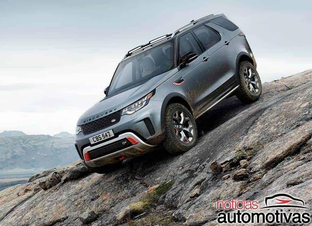 Land-Rover-Discovery-SVX-1 Land Rover Discovery SVX traz apelo off road e motor V8 de 525 cv