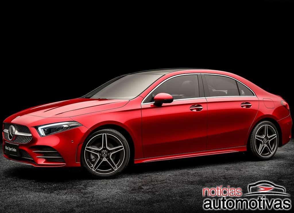 Mercedes-Benz-Classe-A-L-Sedan-2019-1 Mercedes-Benz Classe A L Sedan é revelado com entre-eixos longo na China