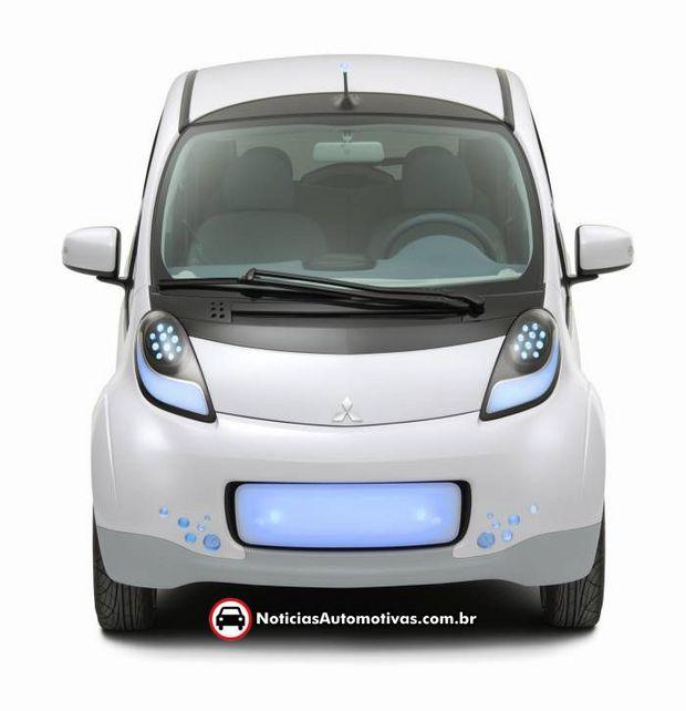 Mitsubishi-i-MiEV-2 Mitsubishi confirma que micro carro elétrico iMiEV será lançado também nos EUA