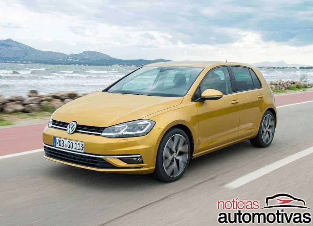 vw golf 2018 fotos motor detalhes vers es pre os. Black Bedroom Furniture Sets. Home Design Ideas