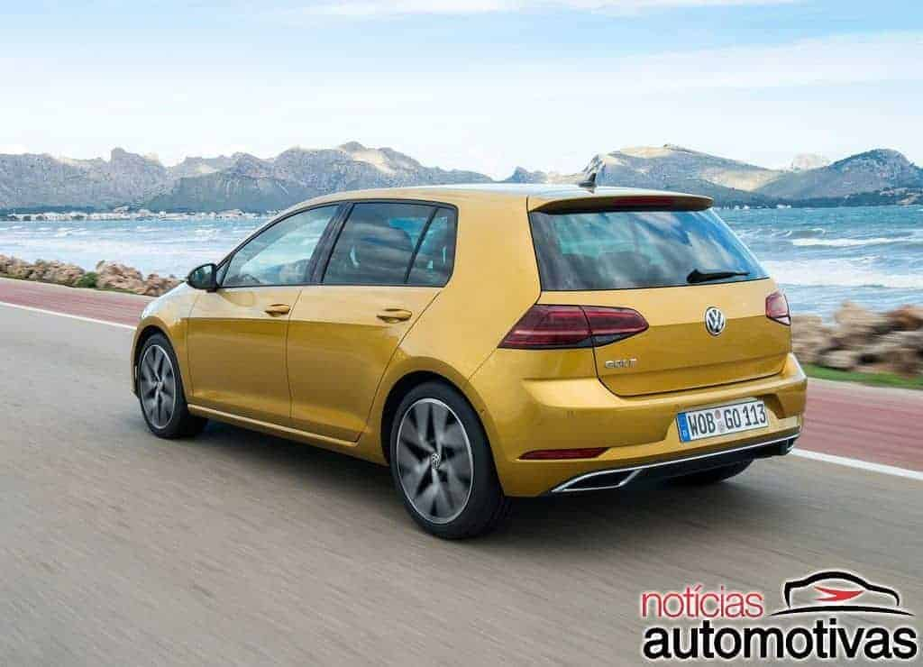 golf-tsi-bluemotion Volkswagen propõe 25 km/litro com Golf TSI ACT Bluemotion