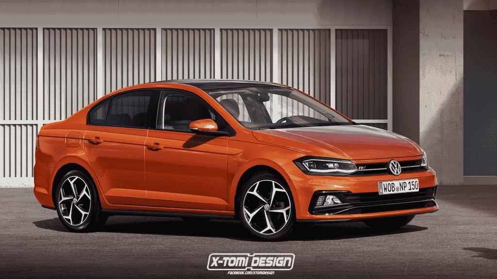 Volkswagen-Polo-Sedan2 Projeção: Como seria uma família derivada do Novo Polo?