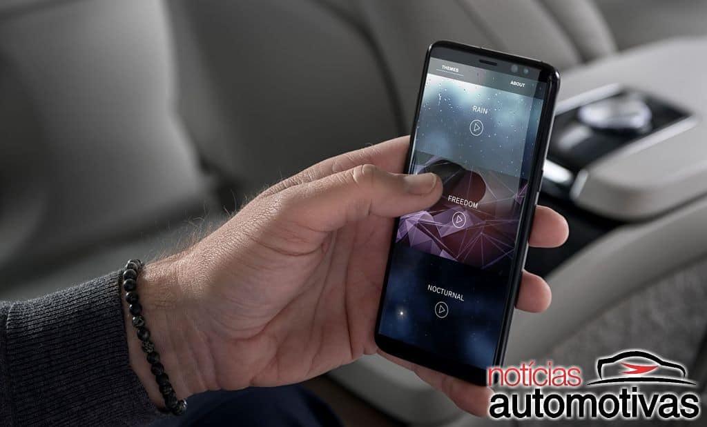 Volvo S90 Ambience Concept 2019 13 - Volvo S90 Ambience Concept dá nova ideia de luxo para automóveis (vídeo)