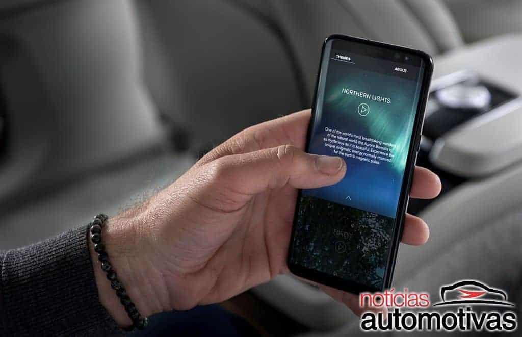 Volvo S90 Ambience Concept 2019 9 - Volvo S90 Ambience Concept dá nova ideia de luxo para automóveis (vídeo)