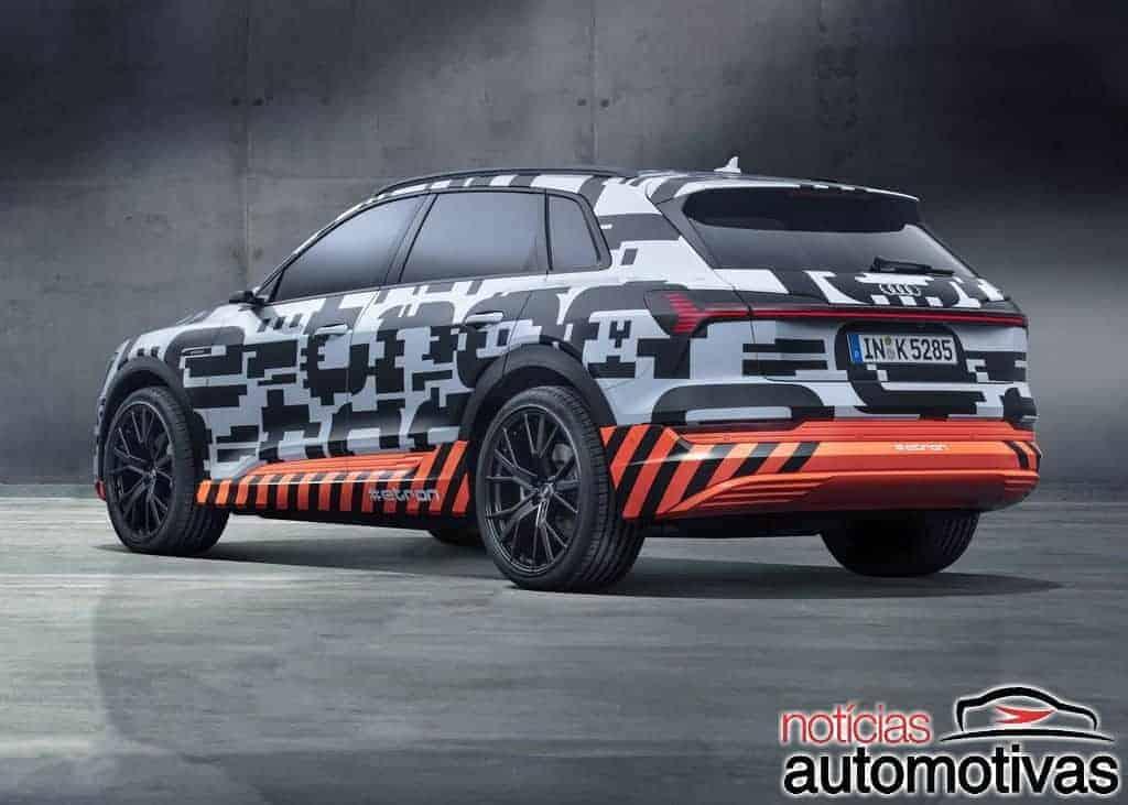 audi e tron prototype 3 - Audi e-tron prototype adianta SUV elétrico que chega em agosto