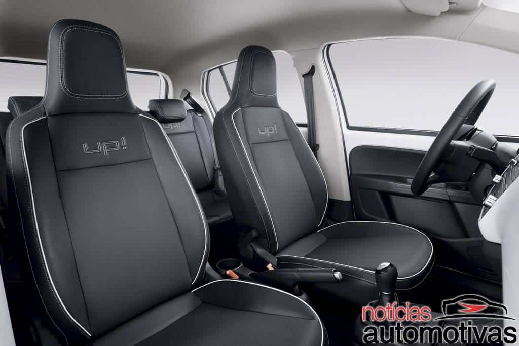 black white red up 3 Novo Volkswagen up! 2014: tudo sobre o novo popular