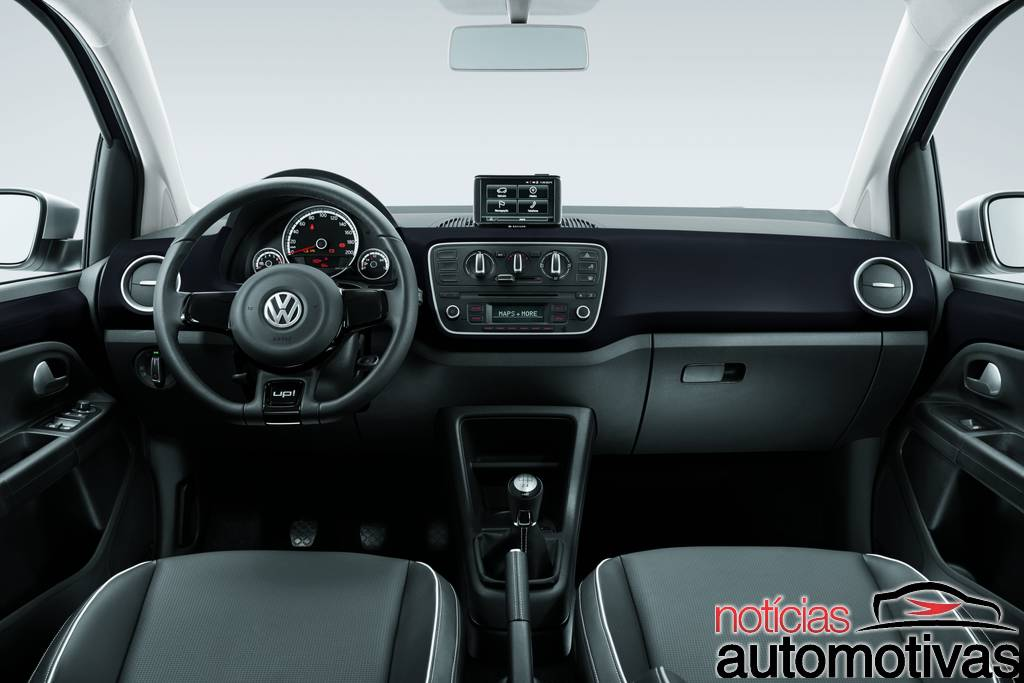 black white red up 8 Novo Volkswagen up! 2014: tudo sobre o novo popular
