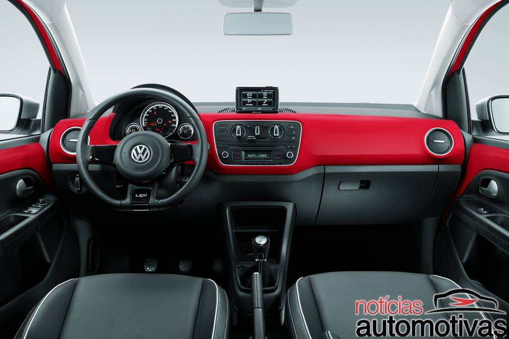 black-white-red-up-9 Novo Volkswagen up! 2014: tudo sobre o novo popular