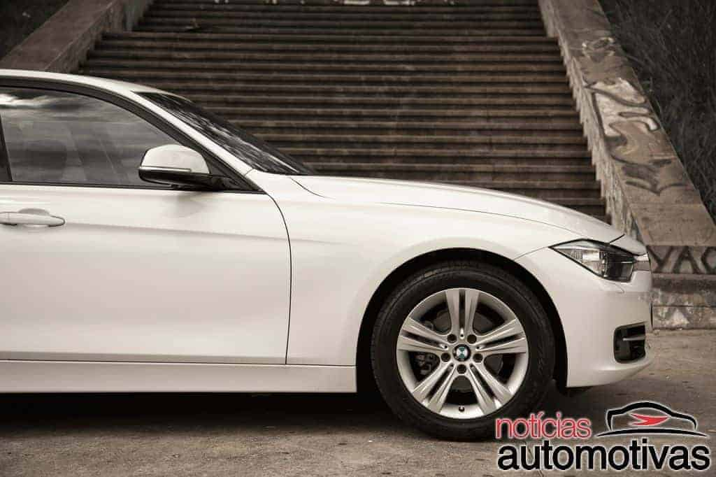bmw 320i active flex branco 13 - Primeiro turbo flex do mundo, BMW 320i ActiveFlex é conservador