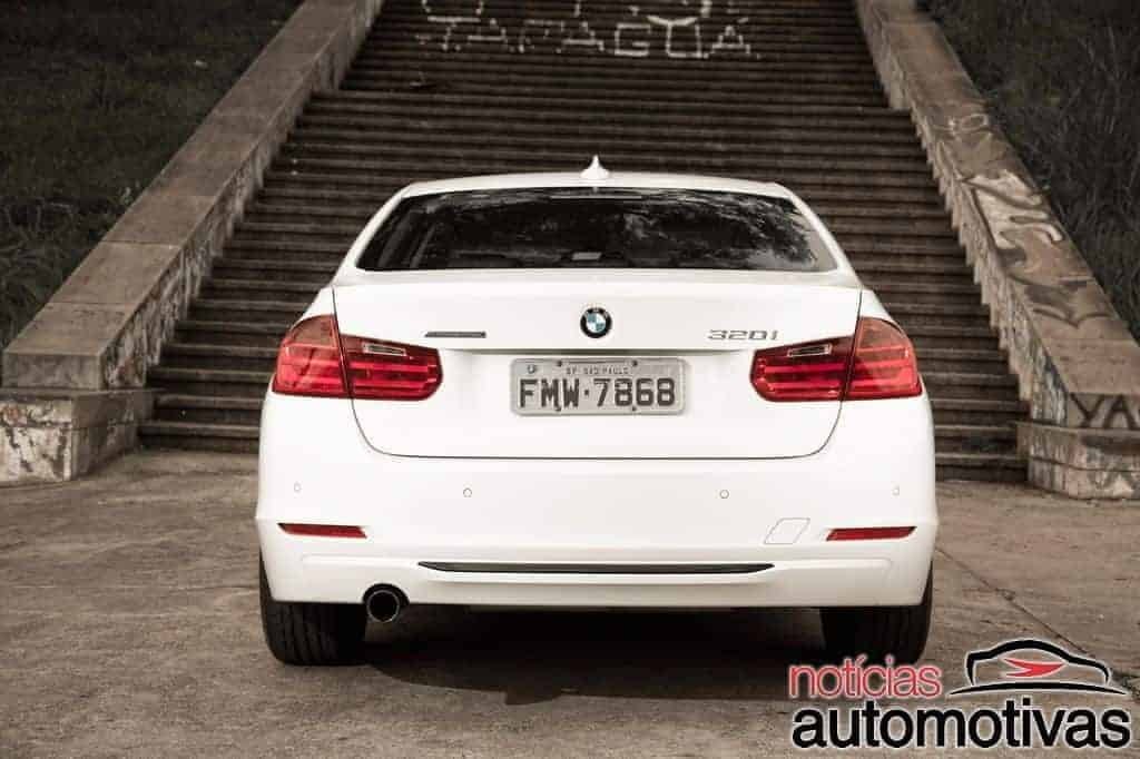 bmw 320i active flex branco 14 - Primeiro turbo flex do mundo, BMW 320i ActiveFlex é conservador
