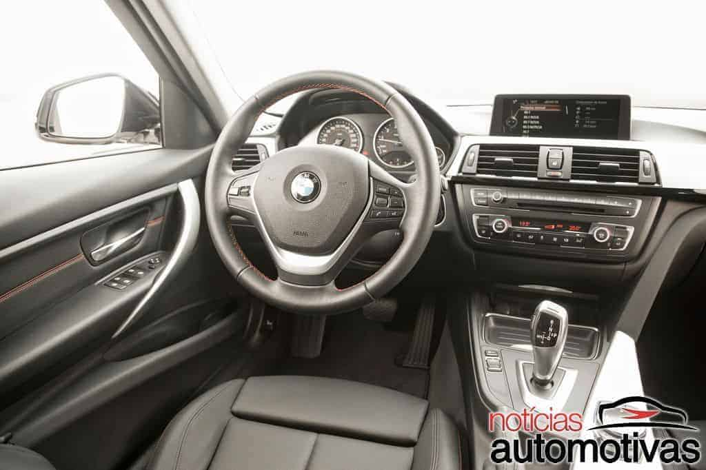bmw 320i active flex branco 20 - Primeiro turbo flex do mundo, BMW 320i ActiveFlex é conservador