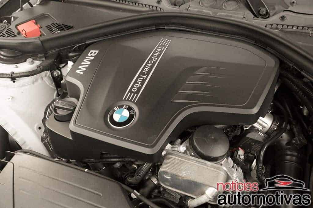 bmw 320i active flex branco 37 - Primeiro turbo flex do mundo, BMW 320i ActiveFlex é conservador
