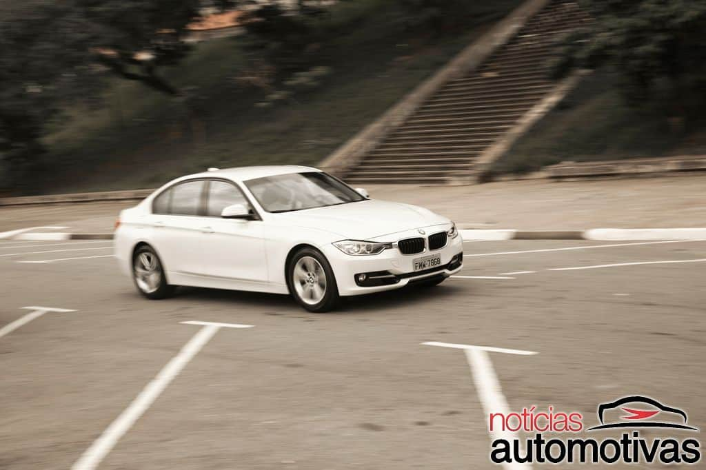 bmw 320i active flex branco 41 - Primeiro turbo flex do mundo, BMW 320i ActiveFlex é conservador