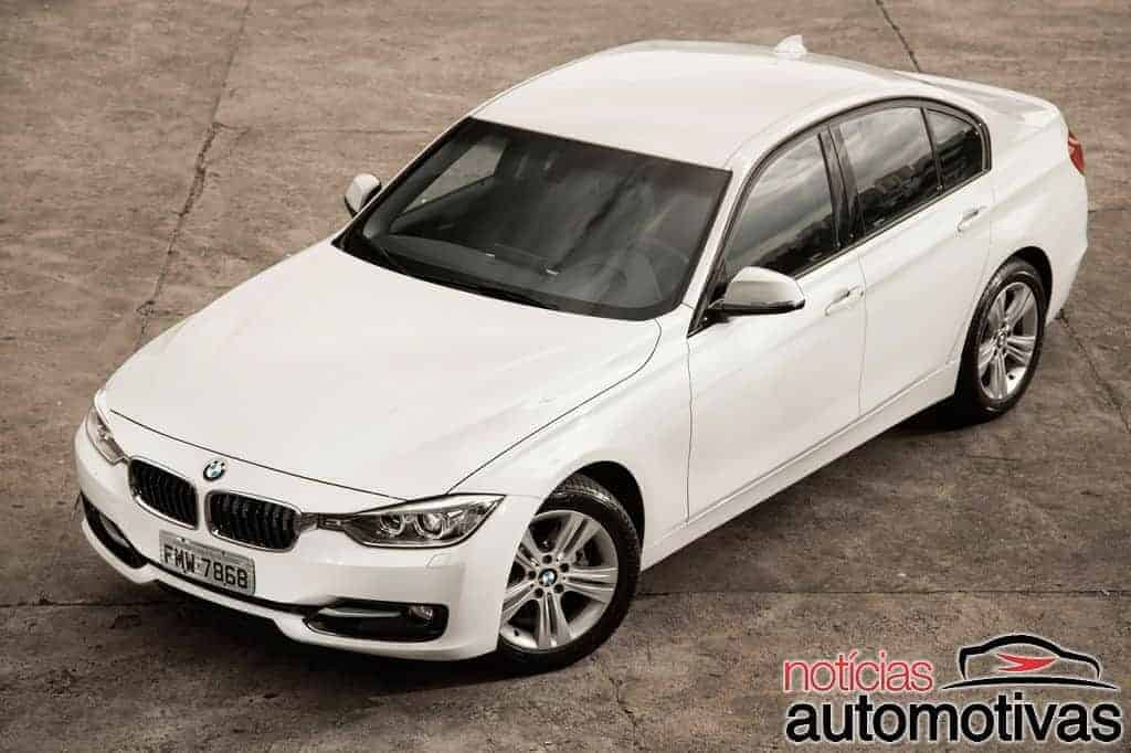 bmw 320i active flex branco 8 - Primeiro turbo flex do mundo, BMW 320i ActiveFlex é conservador