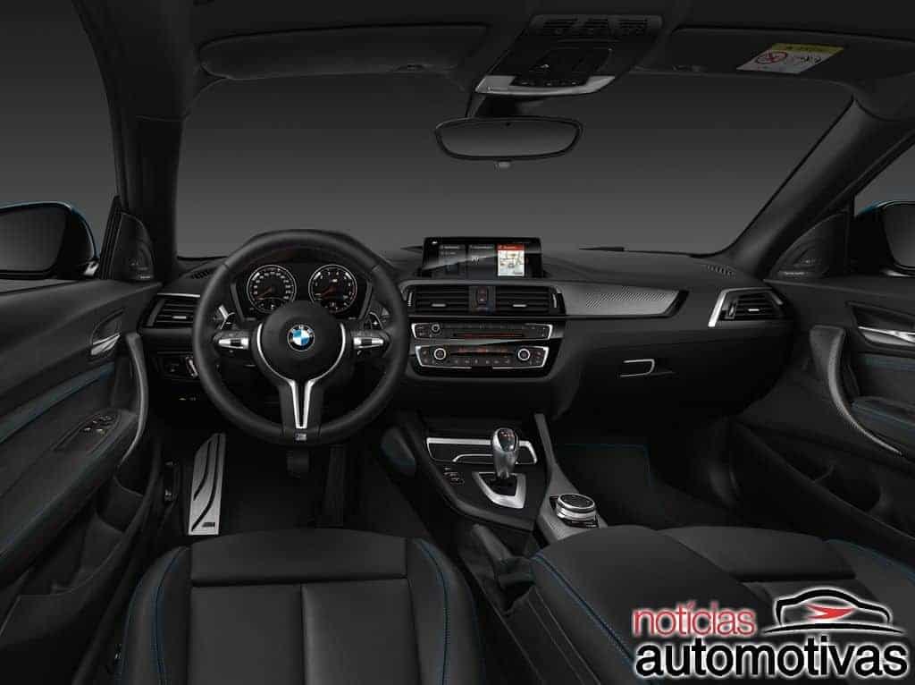 bmw-m2-coupe-2018-4 BMW M2 Coupé 2018 chega por R$ 404.950