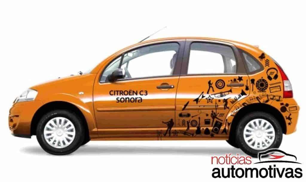 citroen-c4-competition-2 Versões especiais de carros da Citroën