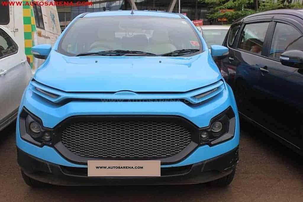 Ford EcoSport: cinco personalizações para ganhar o consumidor indiano