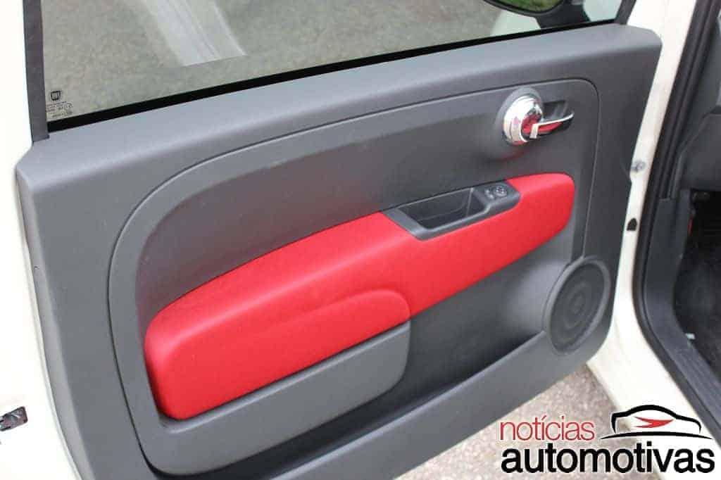 fiat-500-fotos-interior-4-620x412 Avaliação NA - Fiat 500 Cult Dualogic 2 - Impressões do interior e qualidade de acabamento