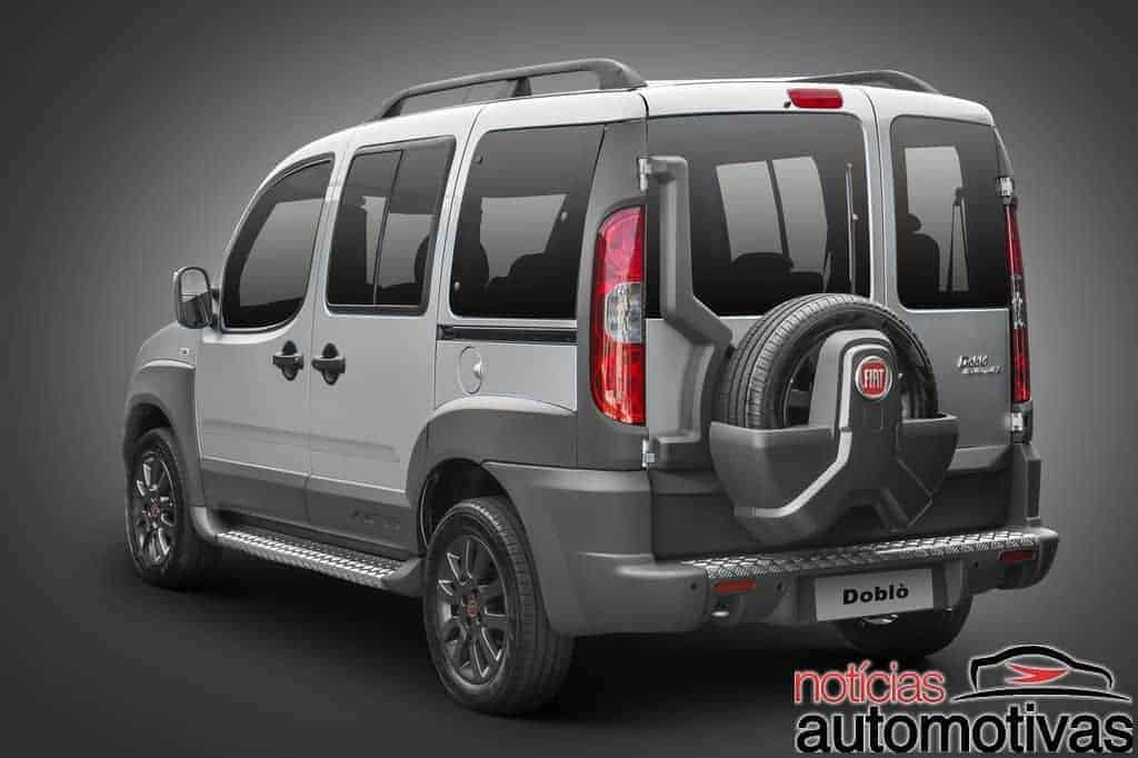 fiat doblo 2018 equipamentos fotos detalhes pre os vers es not cias automotivas. Black Bedroom Furniture Sets. Home Design Ideas