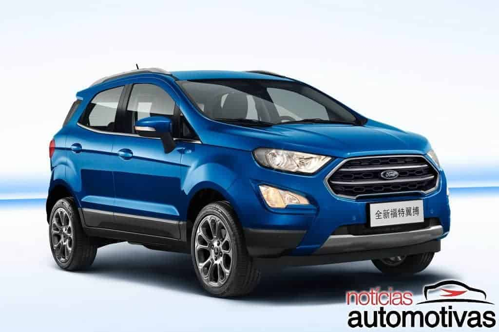 ford-ecosport-2018-china-1 Ford EcoSport 2018 é lançado na China sem câmbio PowerShift