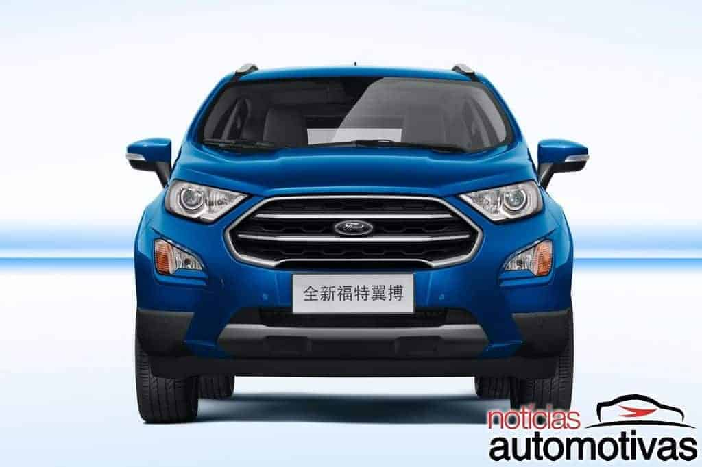 ford-ecosport-2018-china-3 Ford EcoSport 2018 é lançado na China sem câmbio PowerShift