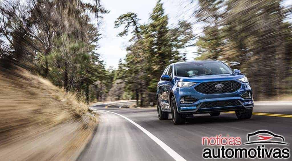 Ford Edge 2019 ganha versão esportiva ST com 340 cv nos EUA