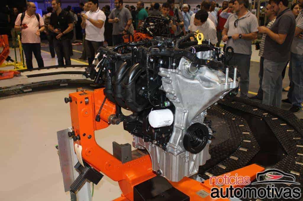 ford fabrica motor 11 - Conheça os detalhes do novo motor 1.0 de três cilindros da Ford