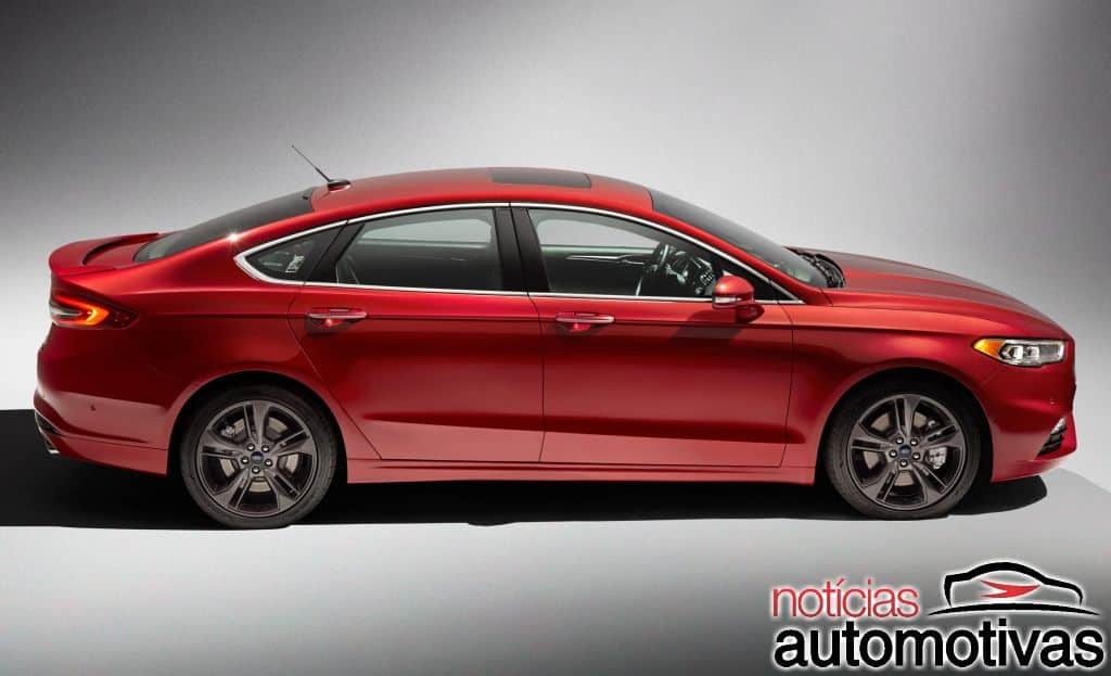 ford fusion 2017 3